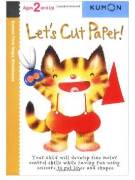 Kumon Educational Preschool Workbook Let's Cut Paper