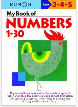 Kumon Educational Workbook Numbers