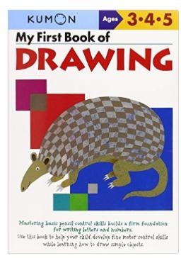 Kumon Educational Workbook Preschool Art Drawing