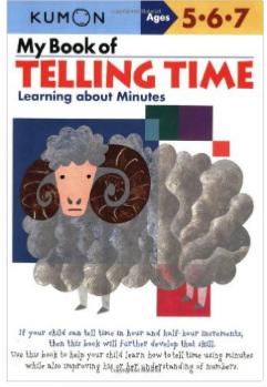 Kumon Educational Workbook Telling Time Clocks