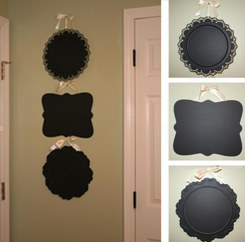 Diy Wall Decor Chalkboard : Diy chalkboard decor a guest post by sweet mints