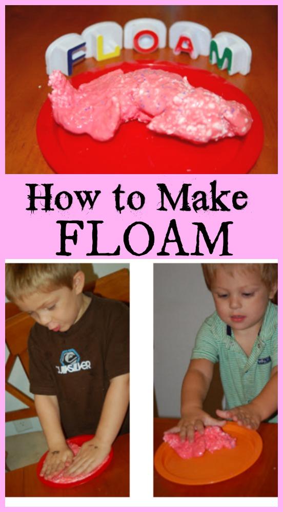 How to Make Floam