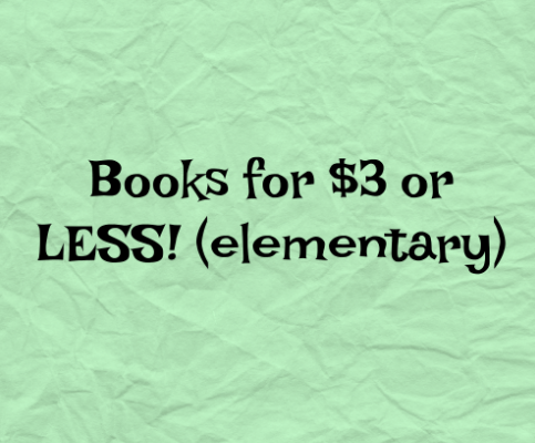 Awesome CHEAP Books Sale!! UNDER $3!!
