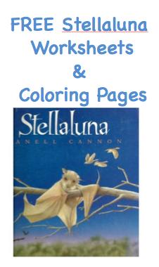 FREE Stellaluna Printable Activity Sheets - Surviving A Teacher\'s ...