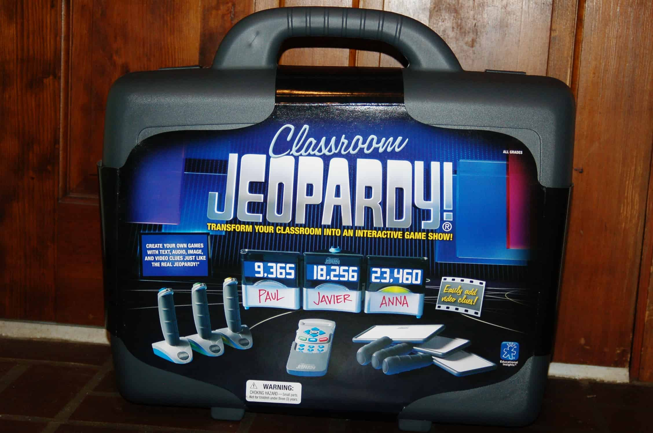 how to play jeopardy in the classroom