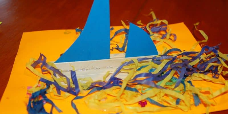 Make a Party Boat Craft