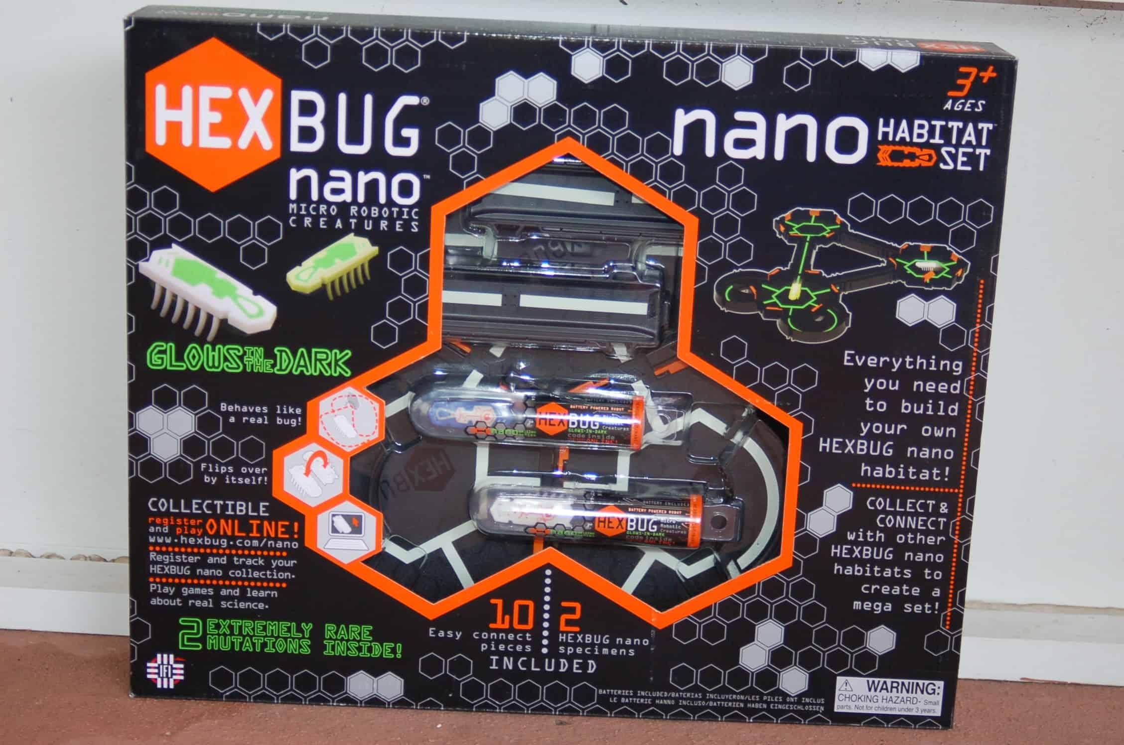 Hexbug Nano Habitat Set Glow in The Dark The Dark Nano Habitat Set