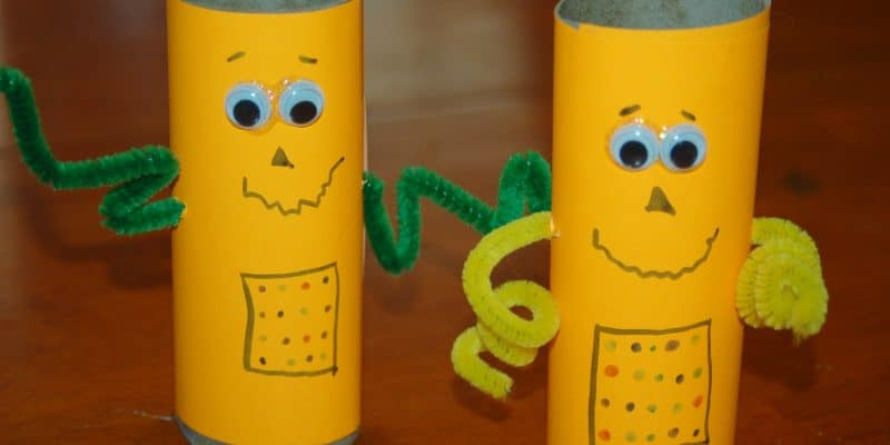 Classroom Friendly Toilet Paper Tube Robots