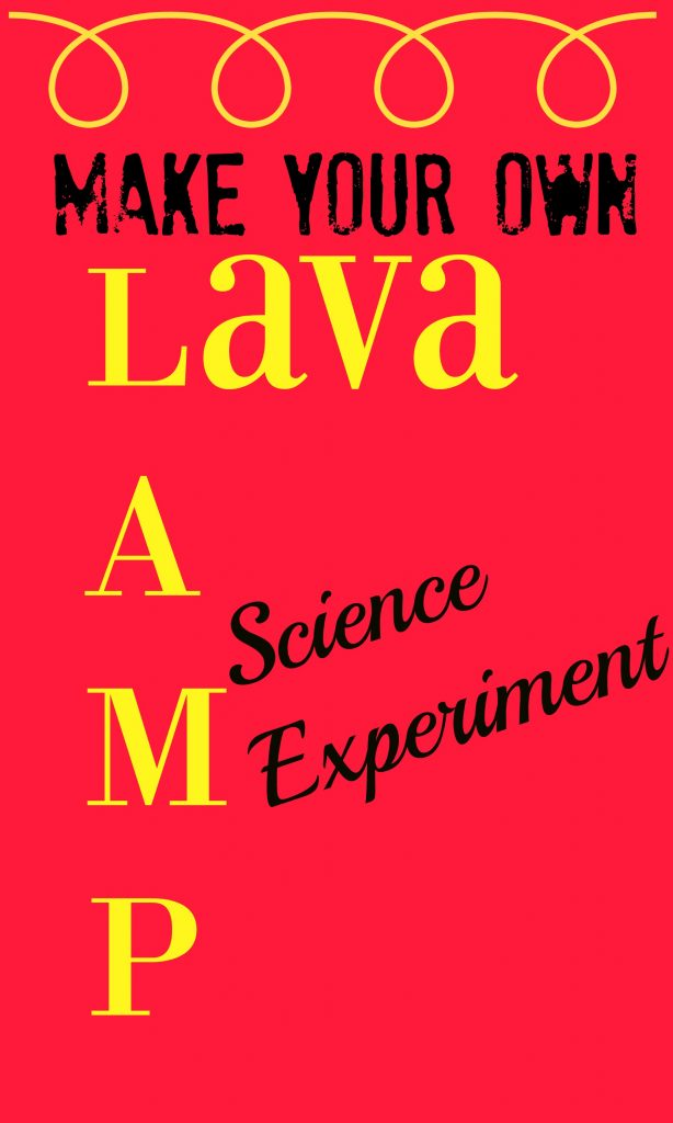 Make Your Own Laval Lamp Science Experiment