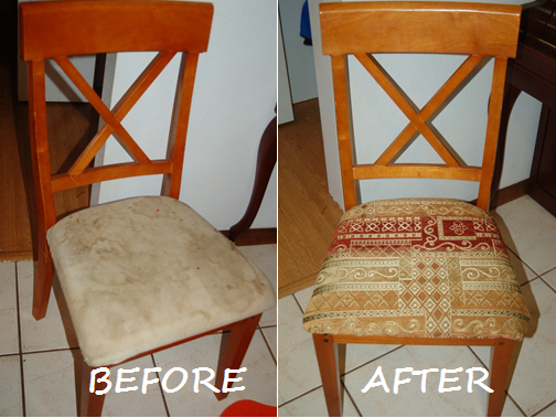look dining room chair reupholstering. beautiful ideas. Home Design Ideas