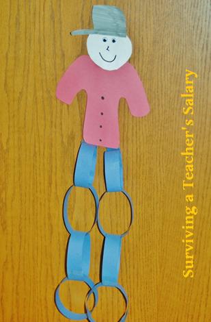 Johnny Appleseed Craft for Kids & Preschool