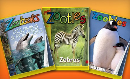 ONLY $10 for Zoobooks Subscription!