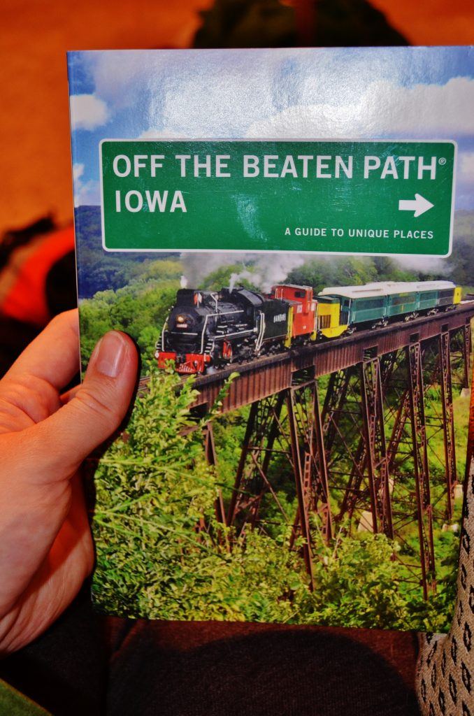 off the beaten path iowa book