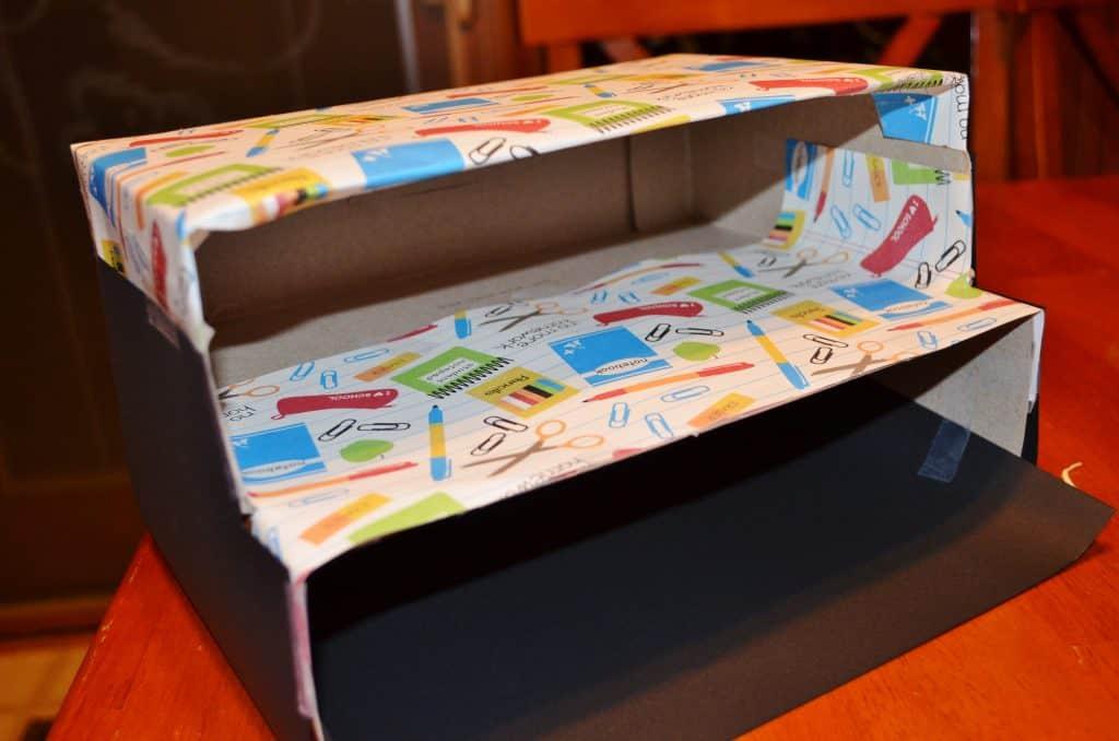 DIY craft teacher storage