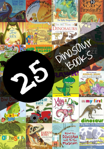 25 Dinosaur Children's Books for Kids