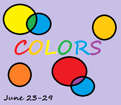 colors and art event button