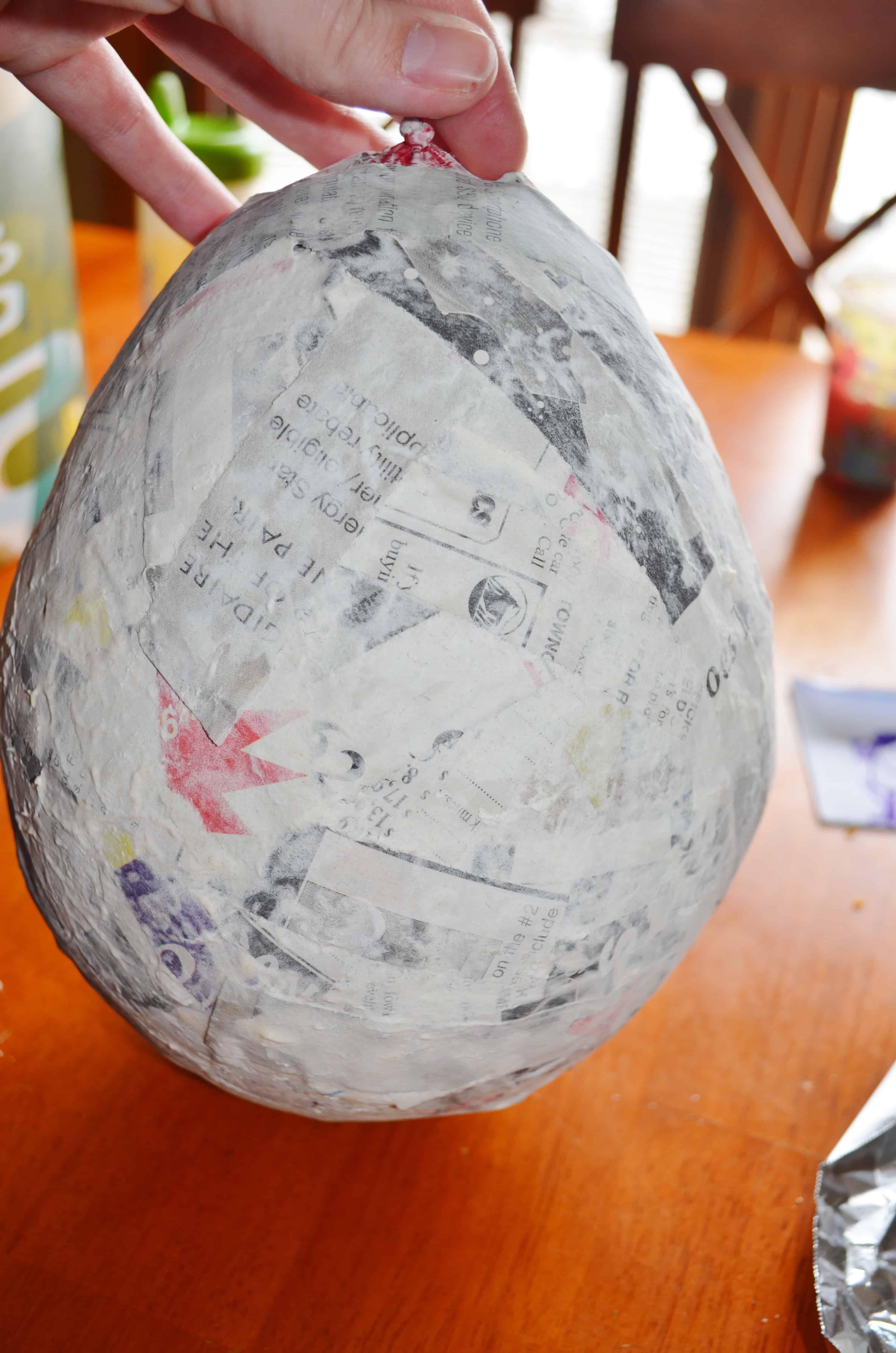 Paper mache penguin project for kids classrooms for Paper mache ideas for kids