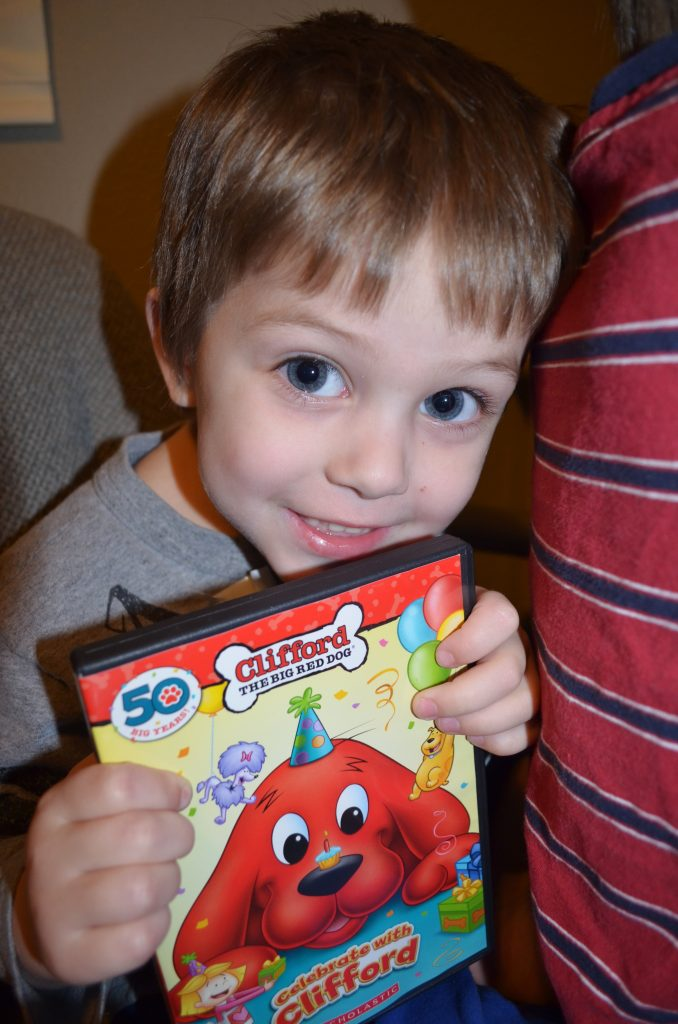 Clifford Birthday DVD