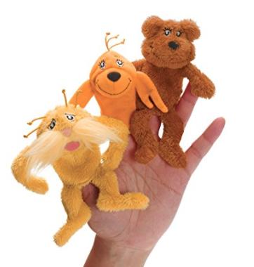 Dr Seuss The Lorax Finger Puppets