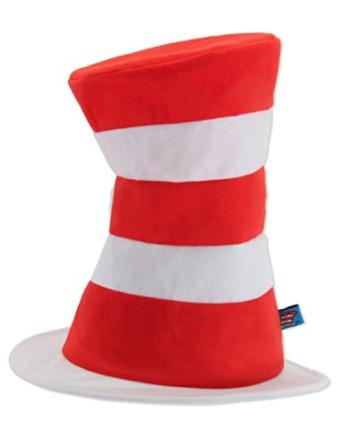 Dr Seuss Cat in the Hat Top Hat