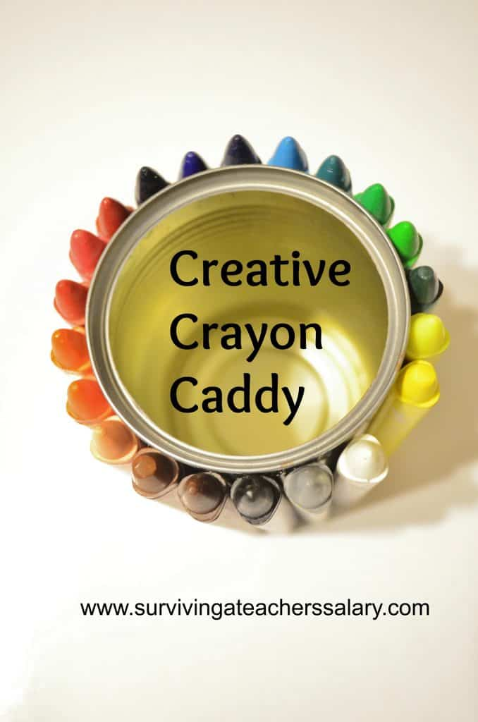 Creative Crayon Caddy