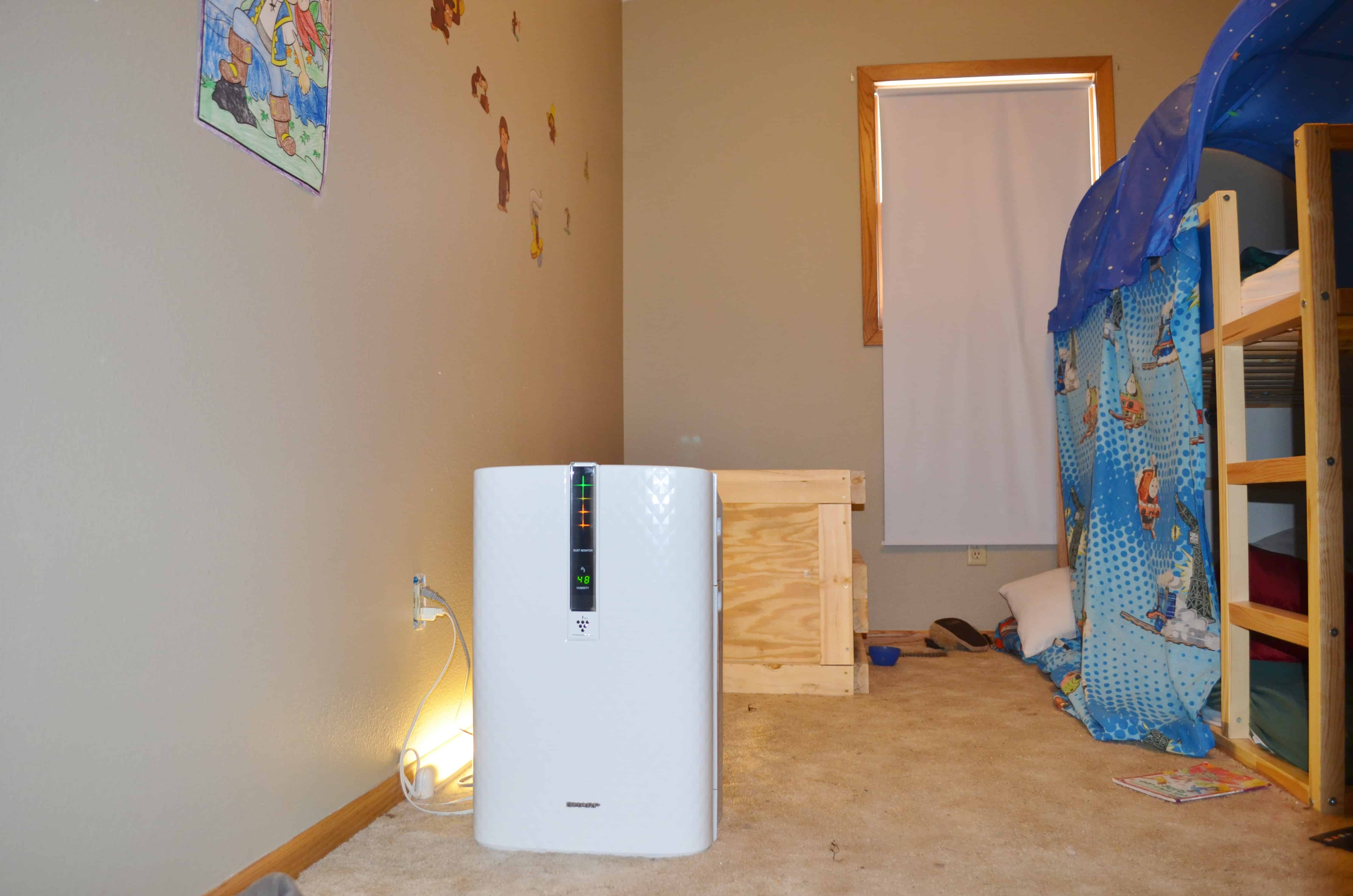 Sharp Plasmacluster Air Purifier with Humidifier Review from Best Buy  #754522
