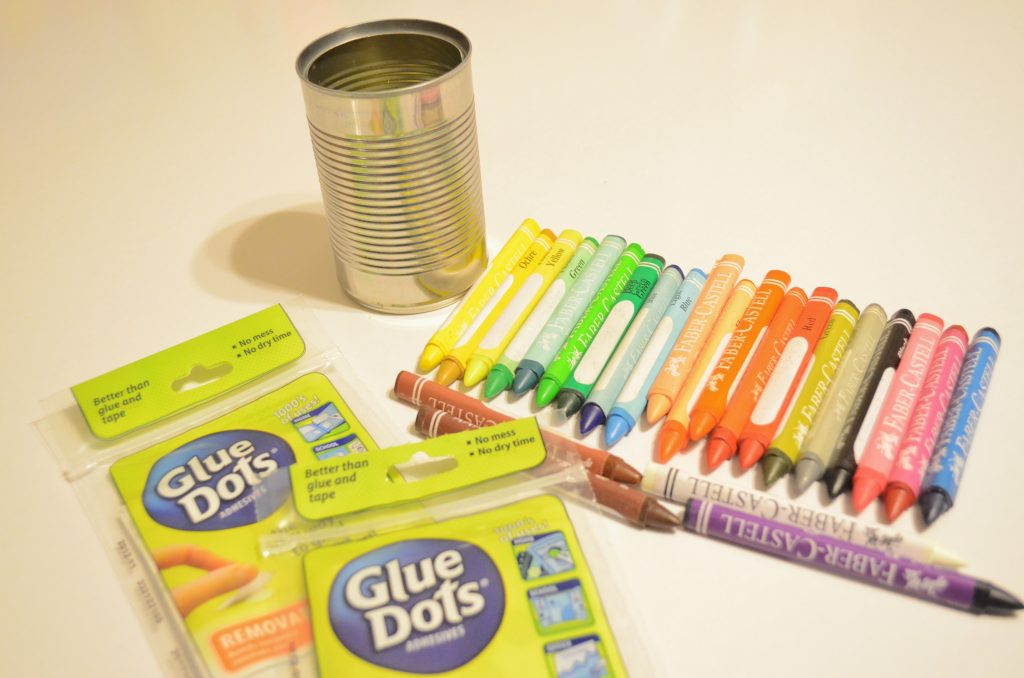 Creative Crayon Caddy Recycled Craft