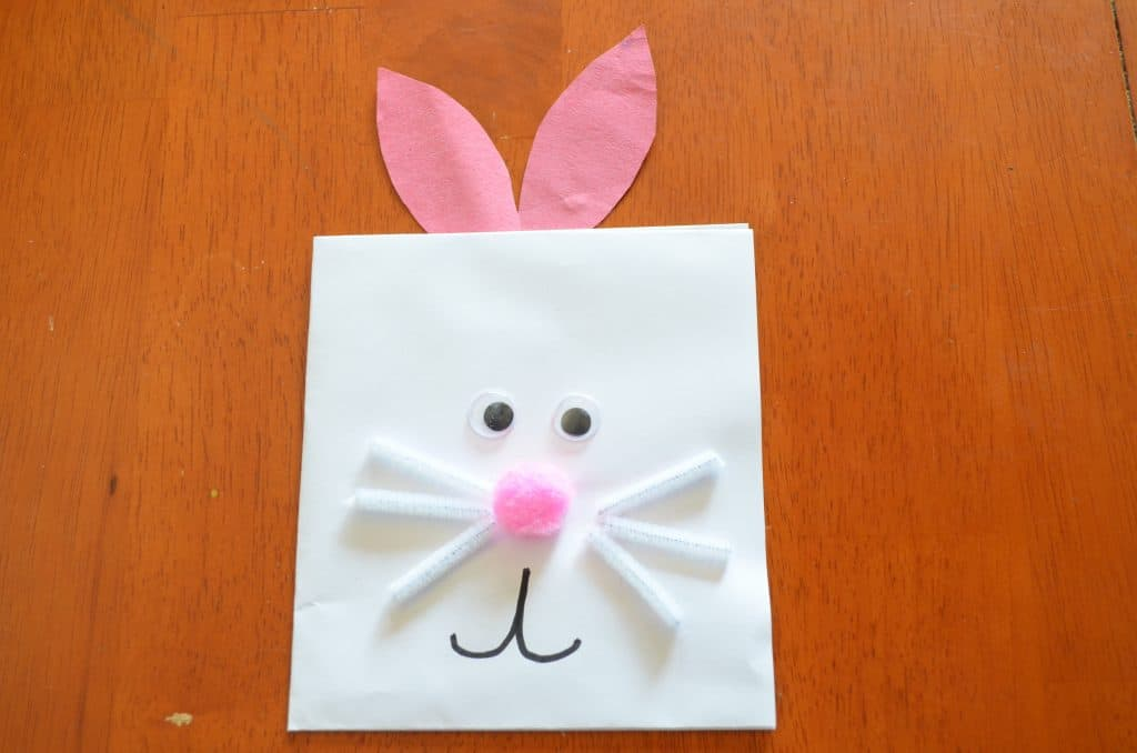 Easy Easter Bunny Spring Craft
