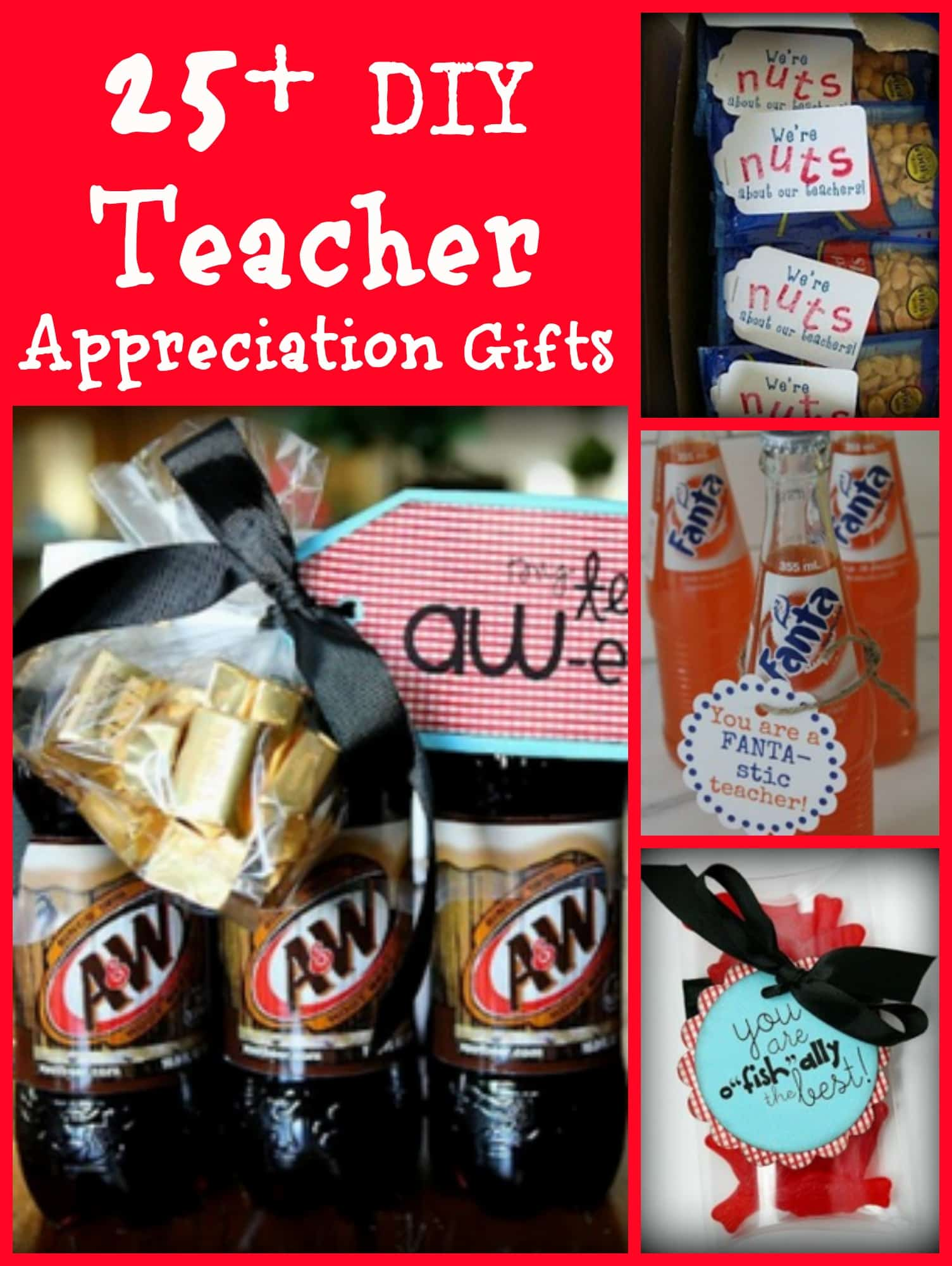 25 Teacher Appreciation DIY Gifts