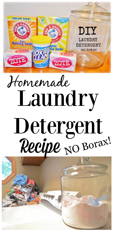 diy homemade laundry detergent recipe no borax. Black Bedroom Furniture Sets. Home Design Ideas