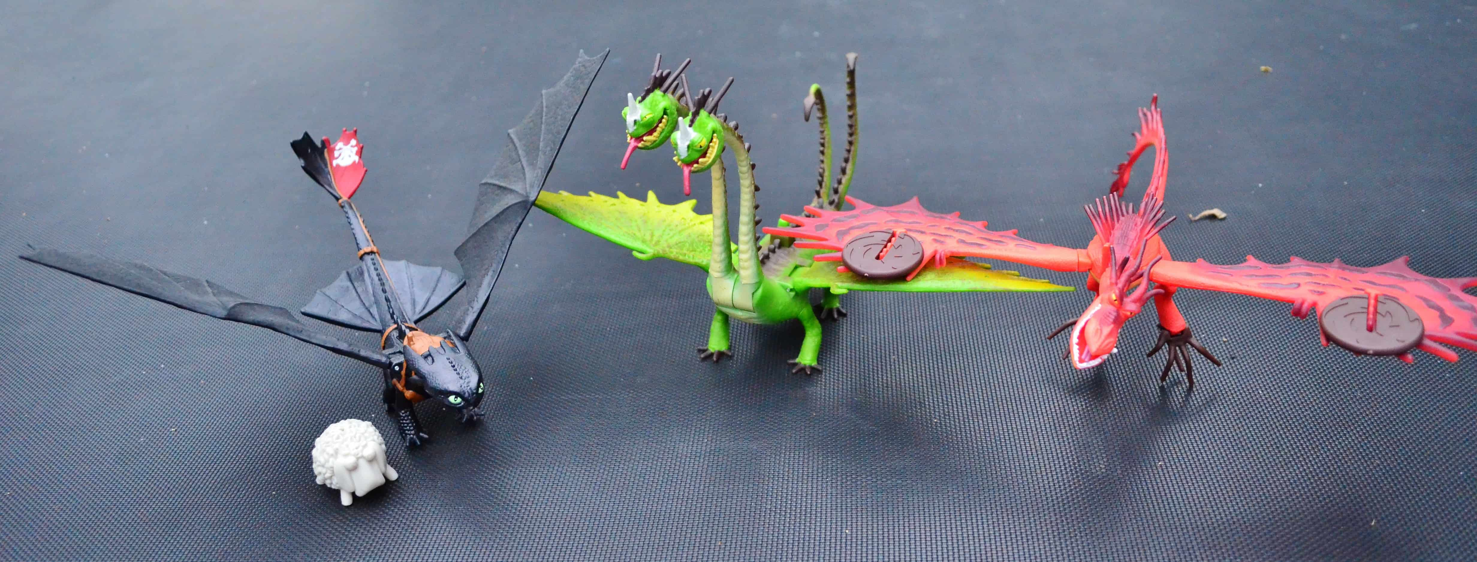 Dreamworks How to Train Your Dragon COOL Action Figure Toys Review