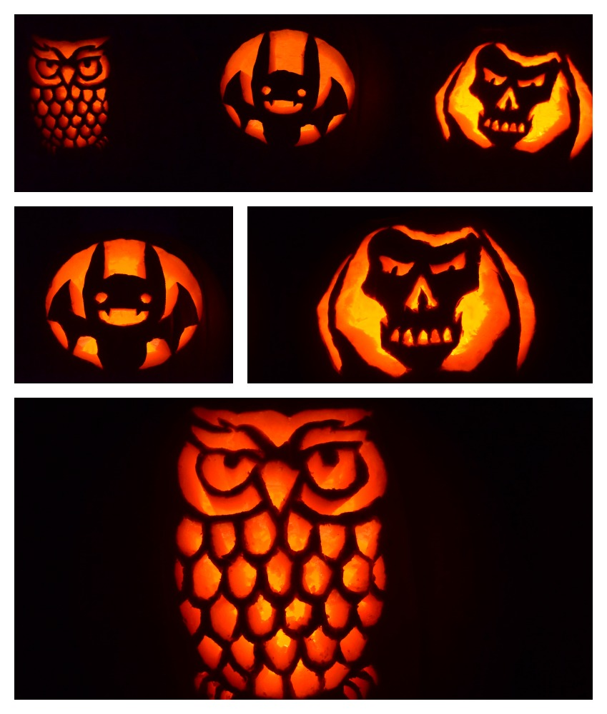 our family tradition: pumpkin carving time! - surviving a