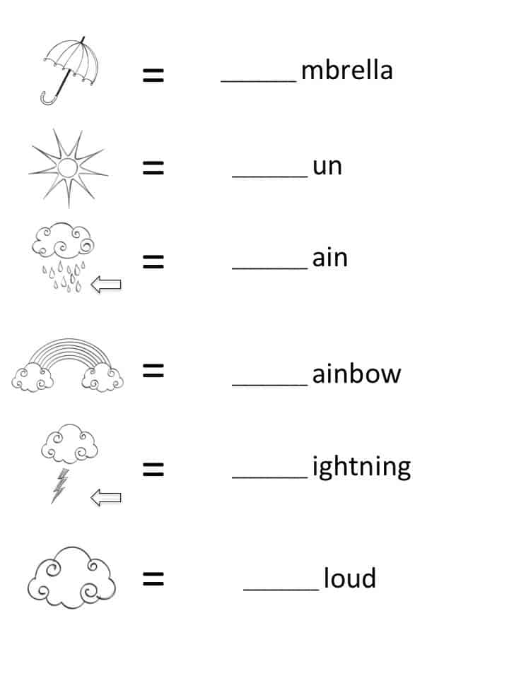 FREE Beginning Sounds Letter Worksheets for Early Learners – Beginning Sound Worksheet