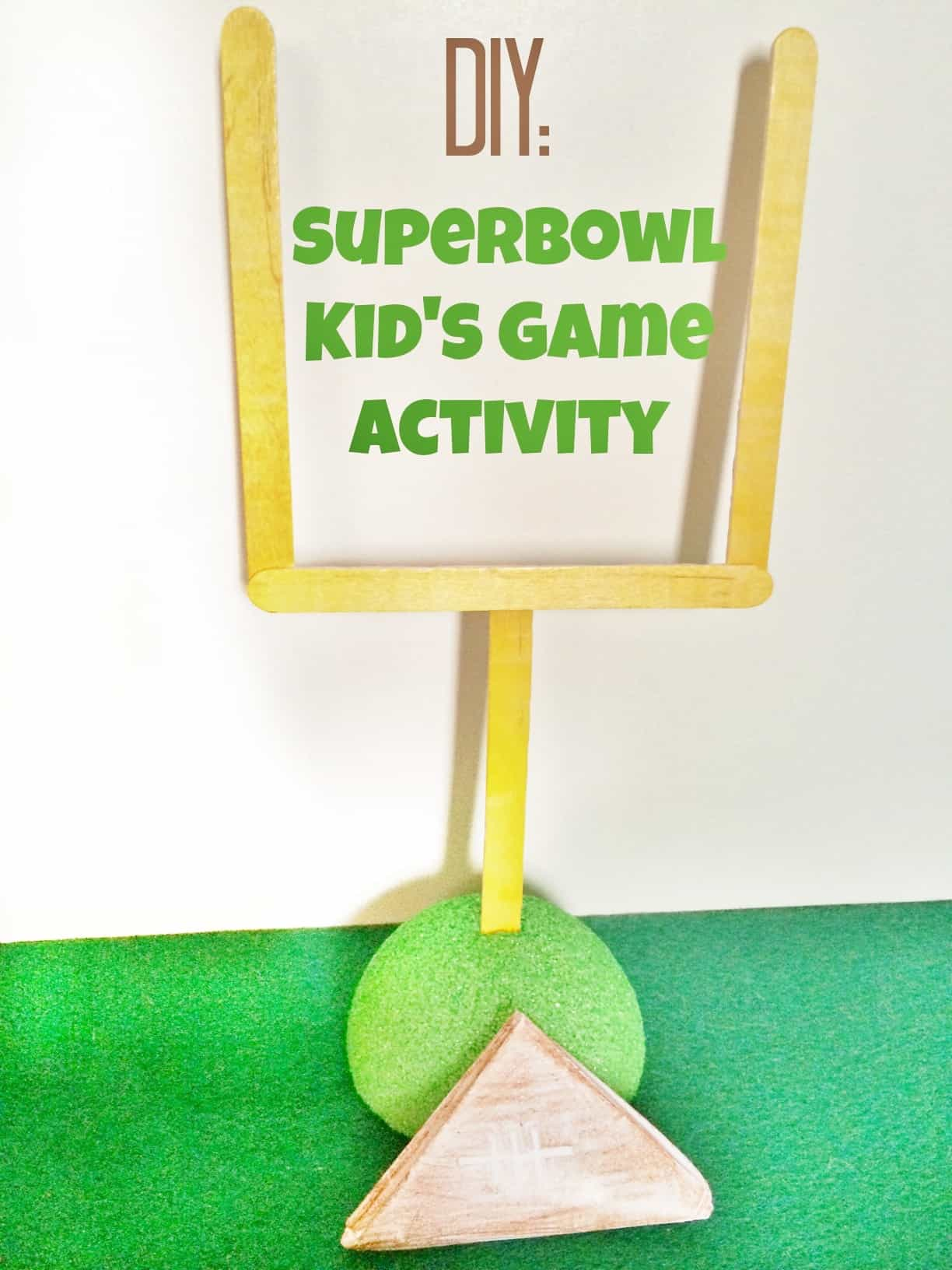 Super Bowl Activity For Kids