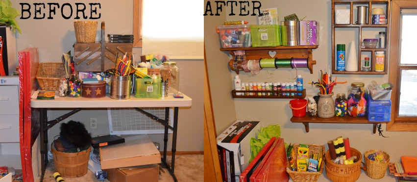 CHEAP Frugal Way To Organize Your Craft Room ThriftStoreThursday
