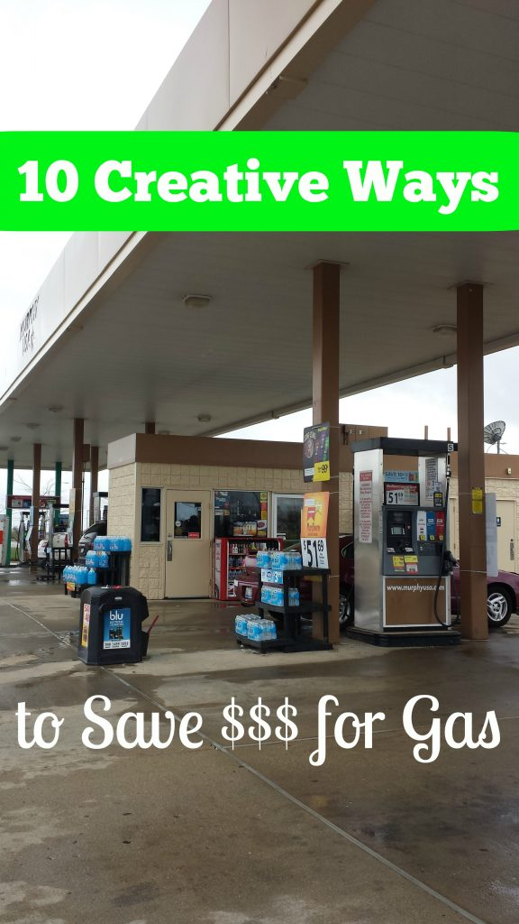 10 creative ways to save money for gas for travel
