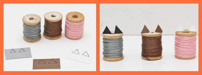 DIY Kitty Cat Craft Collage