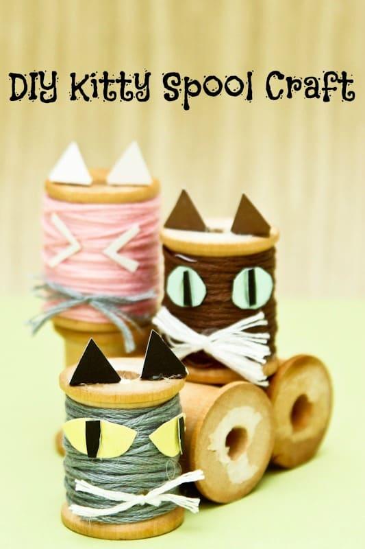 DIY Kitty Spool Craft