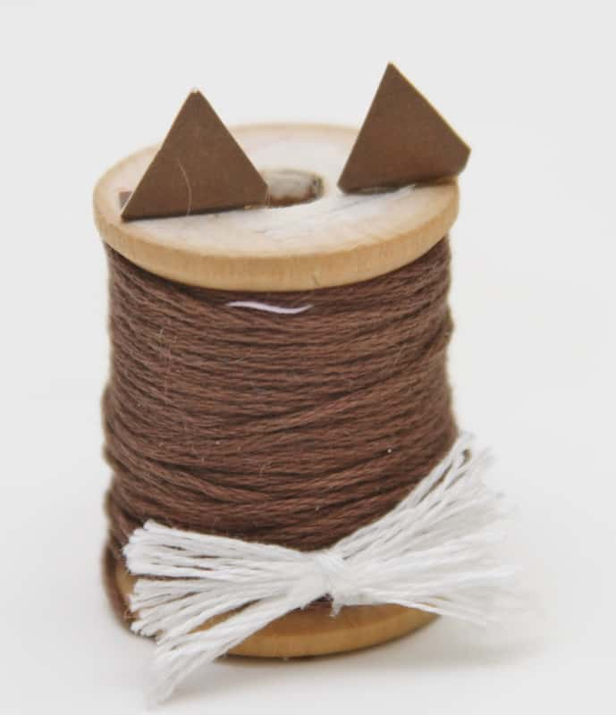 kitty cat spool craft for kids