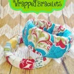 Scrap Fabric Wrapped Bracelets