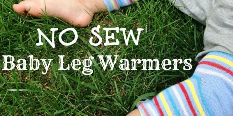 DIY No Sew Baby Leg Warmers – Frugal Baby Idea