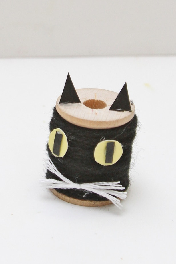 halloween black cat kids craft