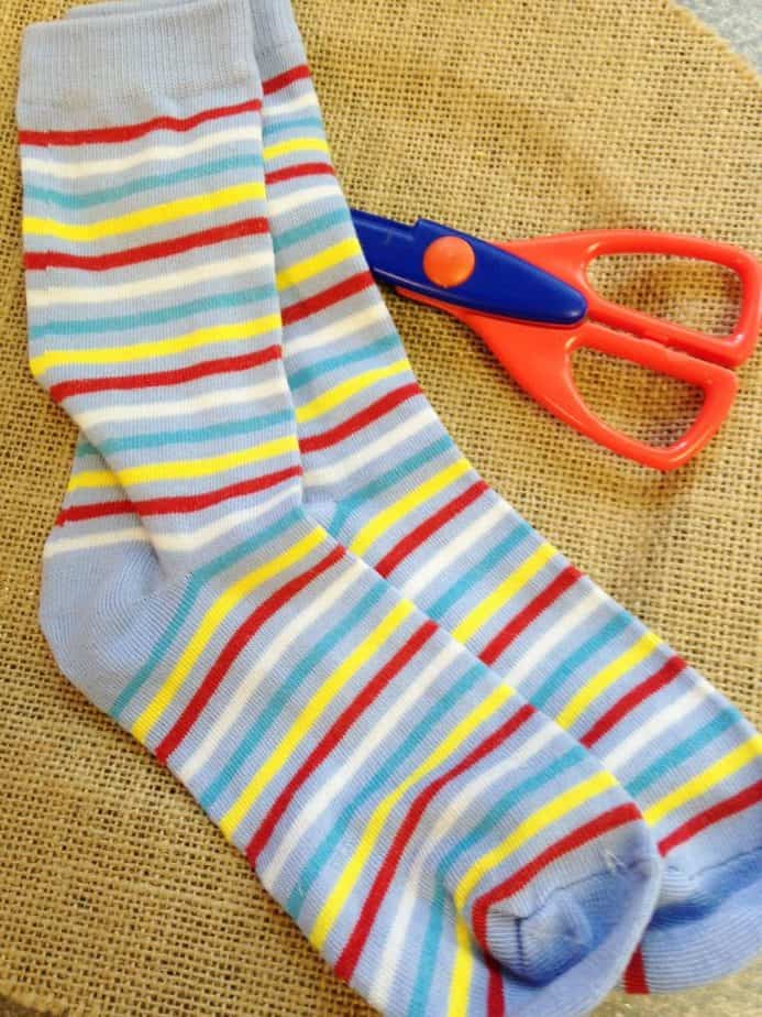 DIY new Sew Baby Leg Warmers Frugal gift