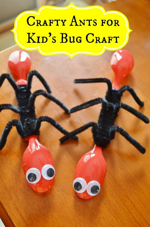 kids ant bug insect craft