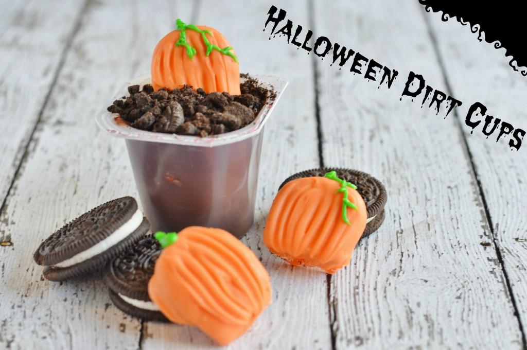 Halloween Dirt Cups Kids Snacks