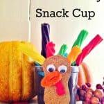 kids turkey snack cup