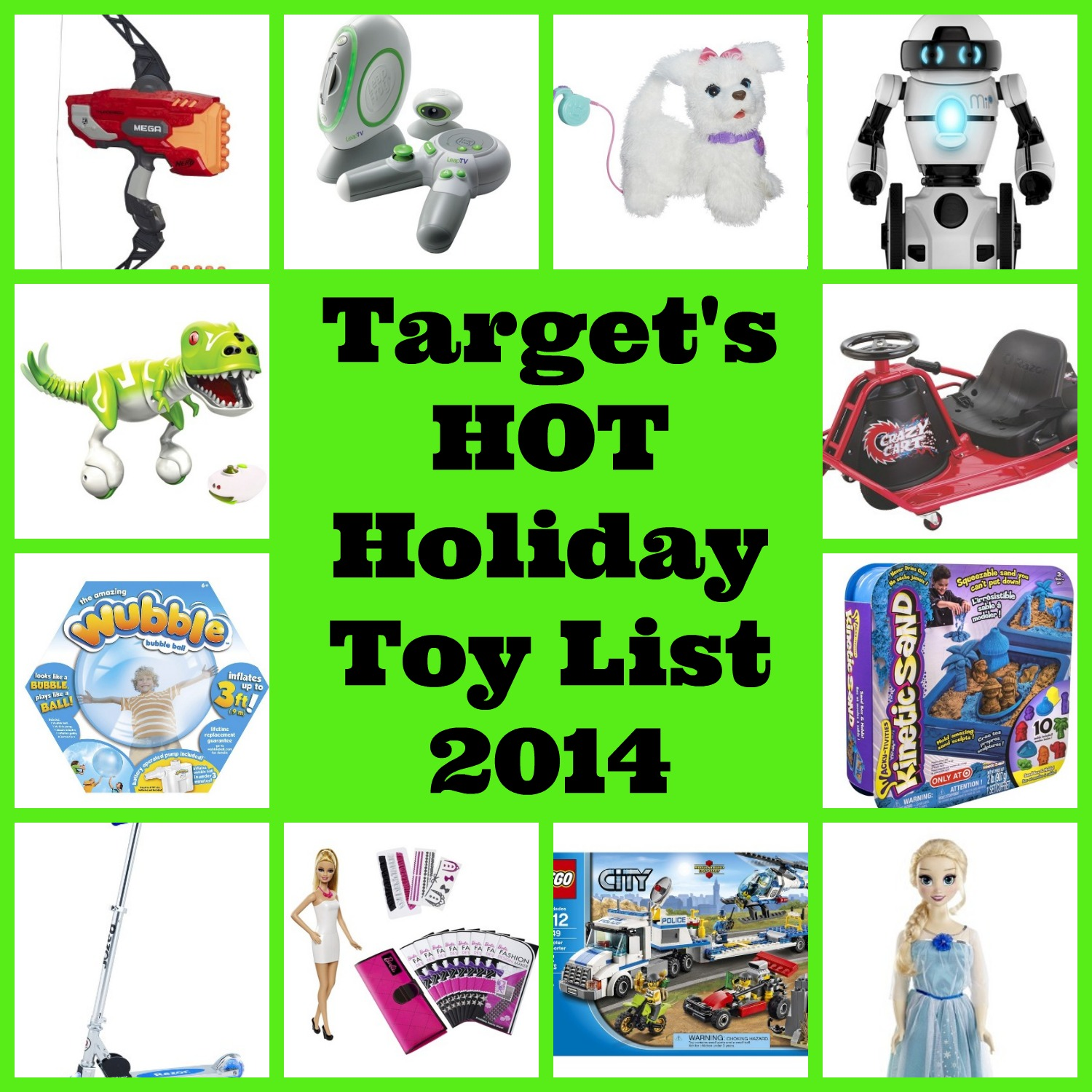 Toys For Christmas List : Target s christmas holiday hot toy wish list