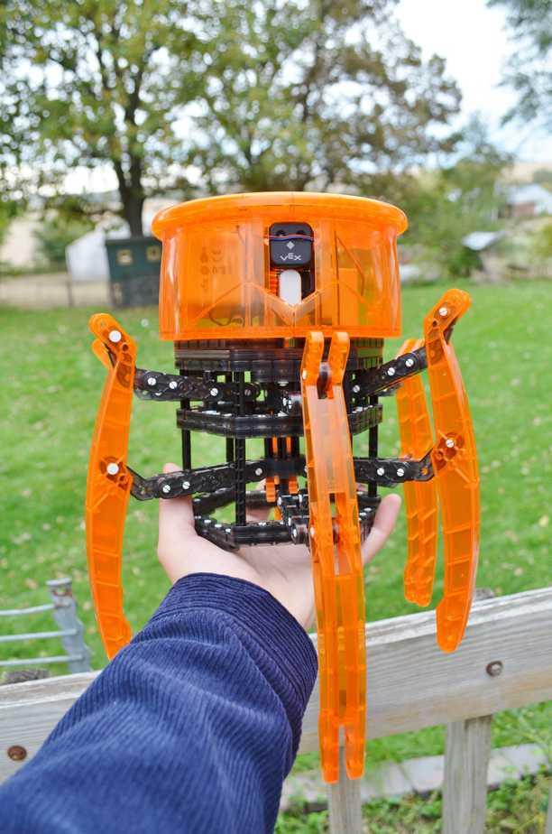 Hex Bug Coloring Pages Vex Robotics by Hexbug Spider