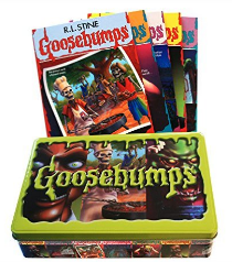 R.L. Stine's Goosebumps Retro Scream Collection book tin