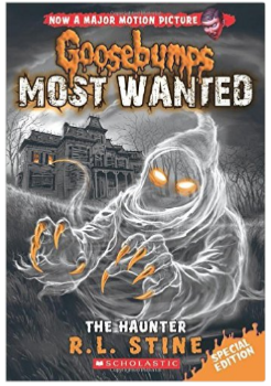 R.L. Stine's new book The Haunter